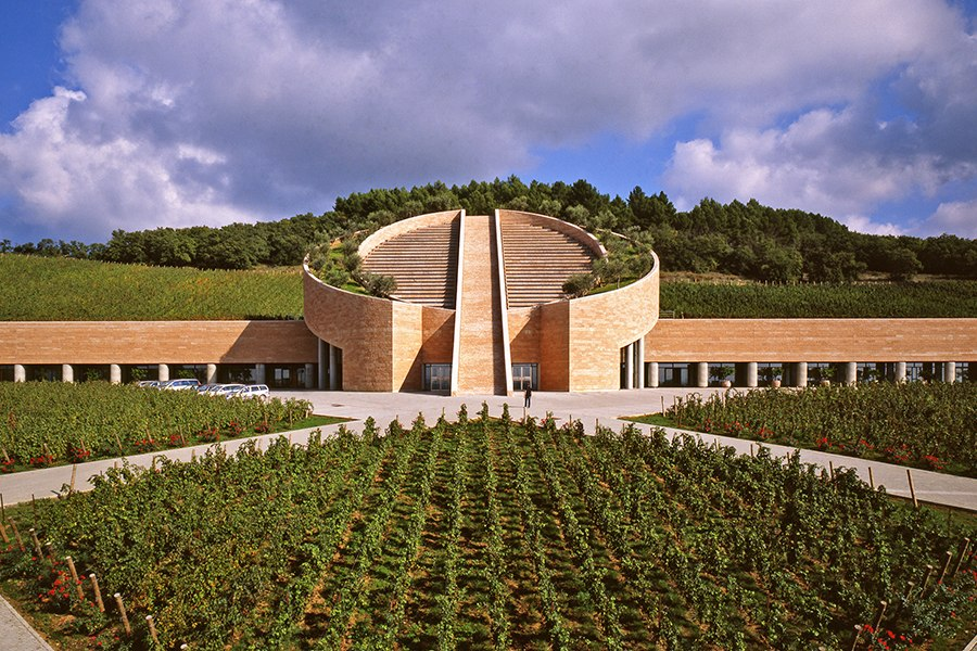 10 wineries with absolutely stunning architecture for Winery floor plans by architects