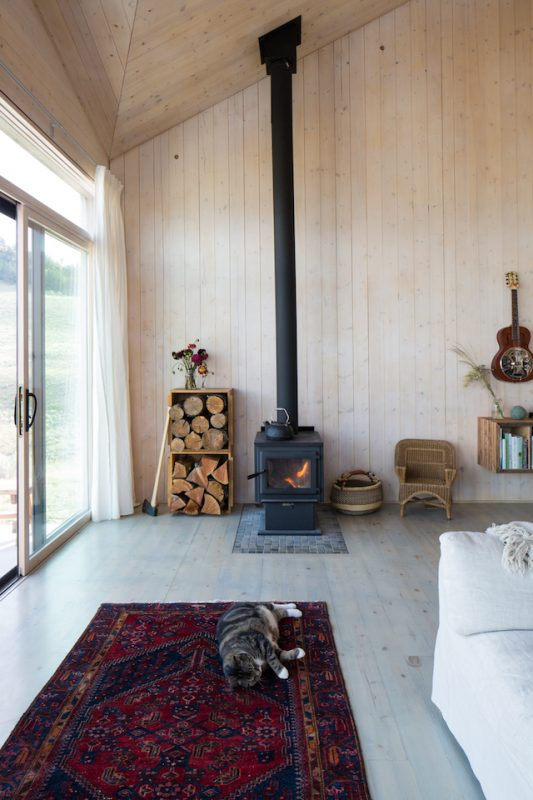 The-Sky-House-Small-Cabin-Jesse-Garlick-Vancouver-Wood-Stove-Humble-Homes