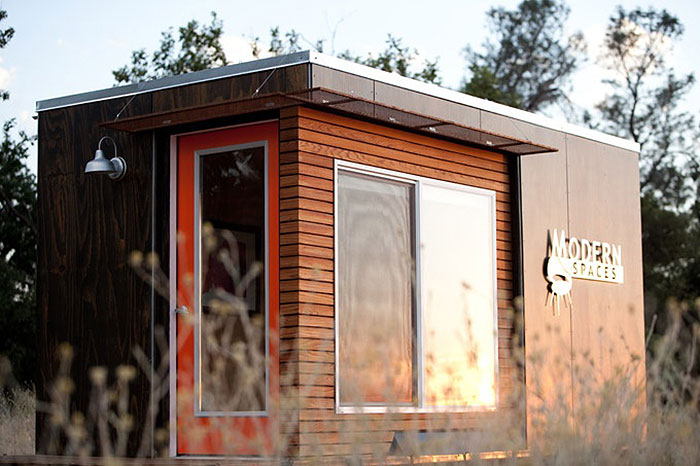 10 shedquarters bring the home office to your backyard for Garden office and shed