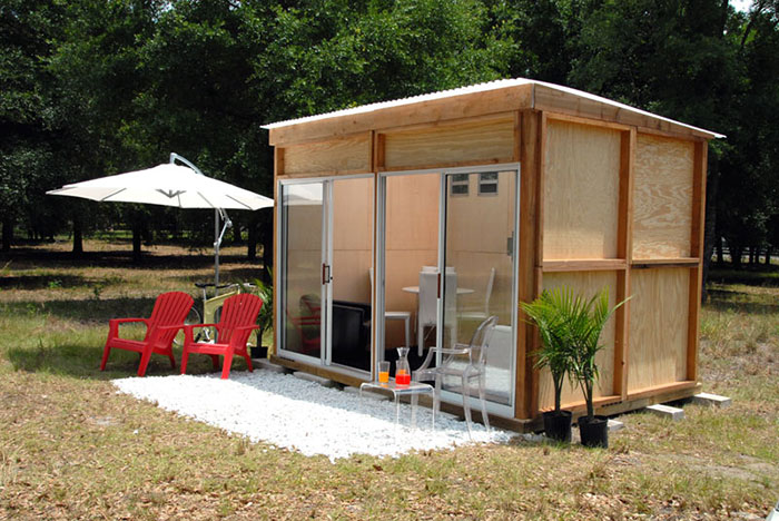 Prefab backyard office