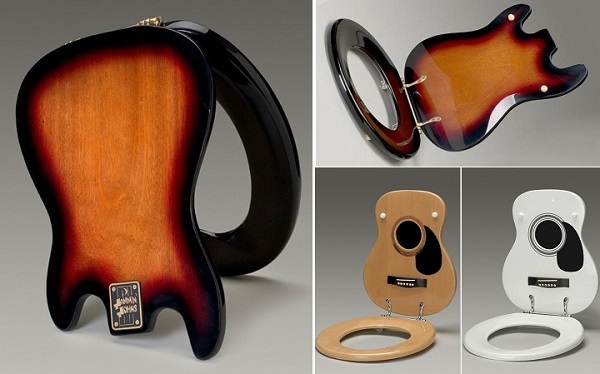 Custom Made Guitar Toilet Seats Your Daily Dose Of Home