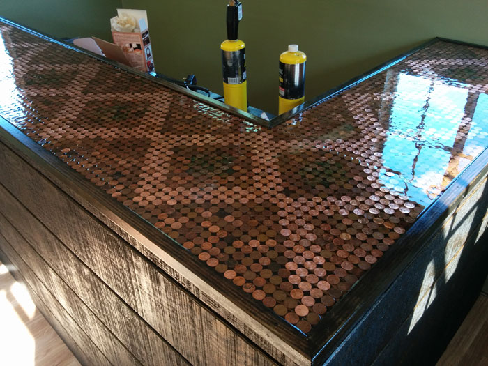 He Made His Pubshed Incredible With 5 500 Pennies