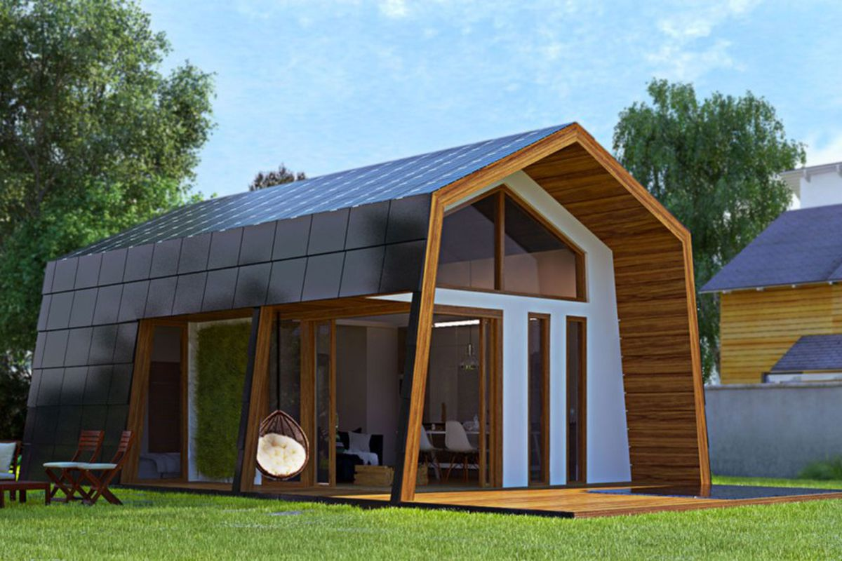 Delicieux Two People Can Assemble This Sweet Solar Powered Prepacked Cabin